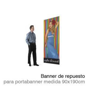 Banner REPUESTO 90x190cm